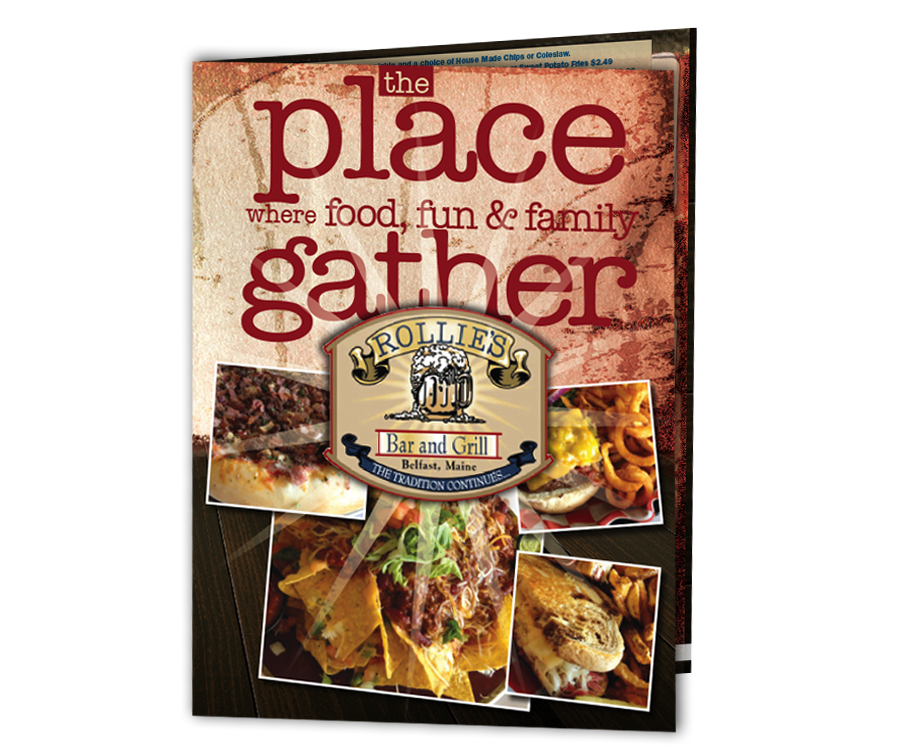 We are your one-stop restaurant menu source for design, print, mail and online menu publishing.